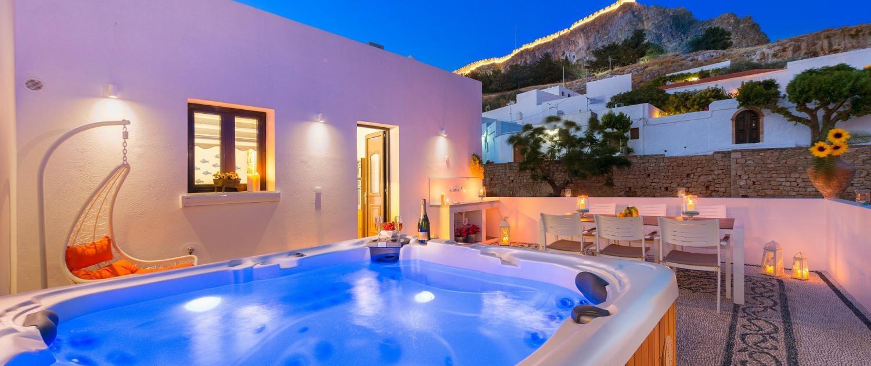 Lindos villa suites