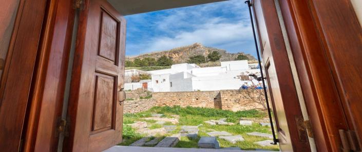 Rooms Lindos Acropolis View